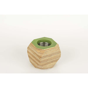 Priormade Geo Vessel Fern Green CHRISTMAS SALE 30% OFF  - Geo | Vessels - top painted (various colours)