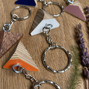 Priormade Key ring Geo Key Rings (various colours)