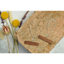 Load image into Gallery viewer, Priormade Wooden Earrings Bar -  Reclaimed Wooden Earrings (various woods)