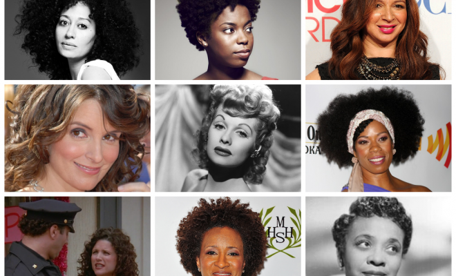 Funny Girls Who Rock Their Curls!