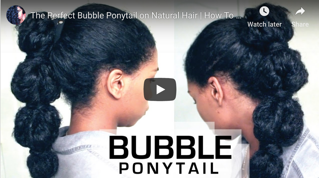 DIY: Bubble PonyTails