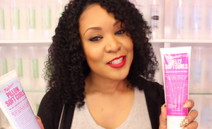 DIY Hairstyling Tutorial with Curly Extensions for the Gal on the Go, Using Miss Jessie's and indique Hair