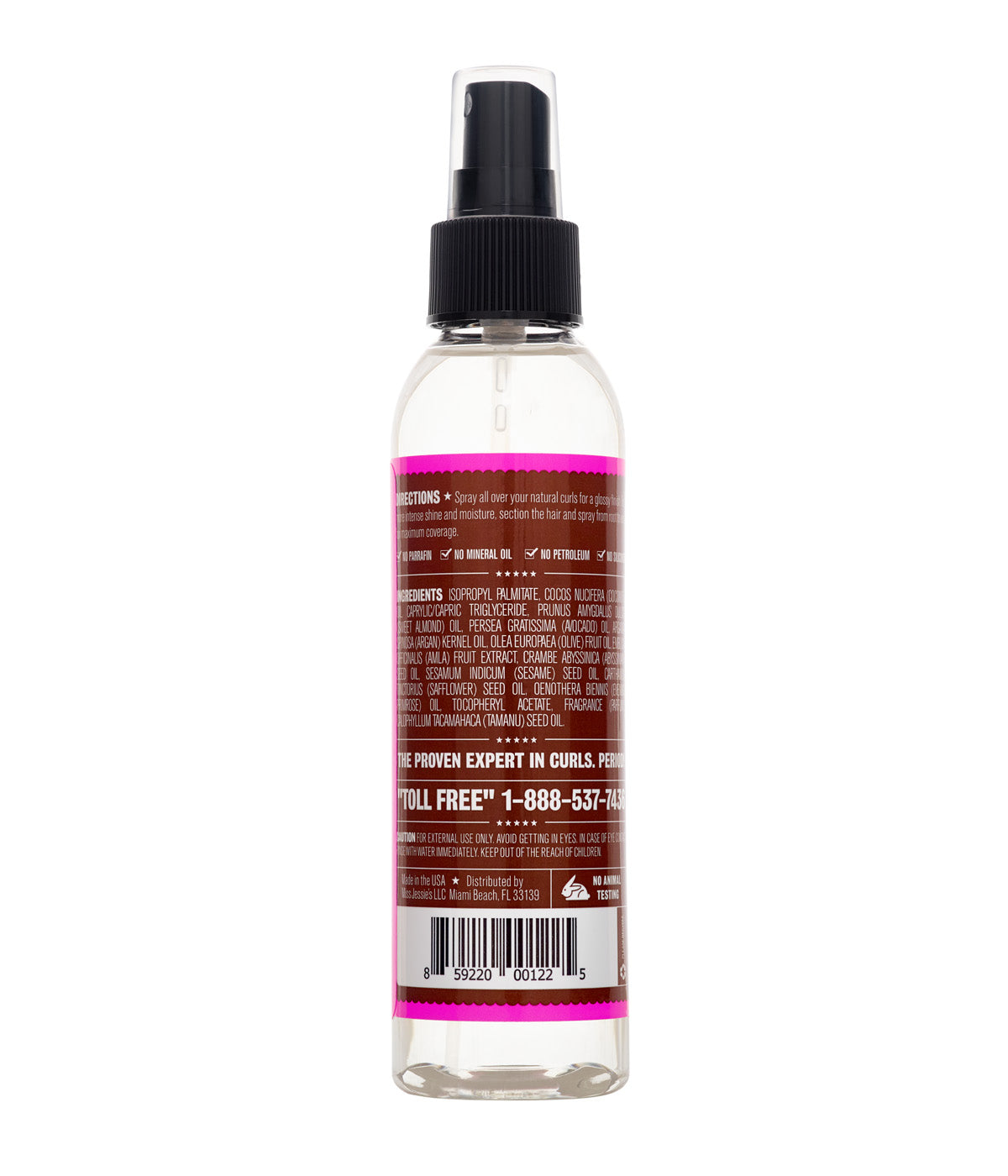 Gloss So Good-Natural Hair Oil Spray