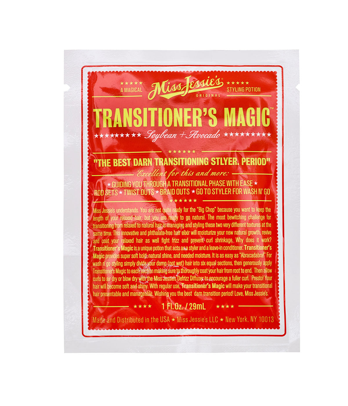 Transitioner's Magic