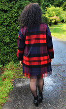 Load image into Gallery viewer, Elegant Tartan Cashmere Light Coat
