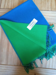 Double-Faced Cashmere stole