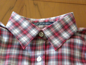 Pre-loved checked Shirt - Non ironing 100% cotton