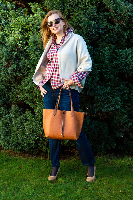 Vintage Checked Shirt for women