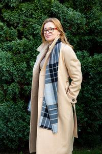 Lightweight Wool Scarf, Perfect addition to your Classy and Professional Look