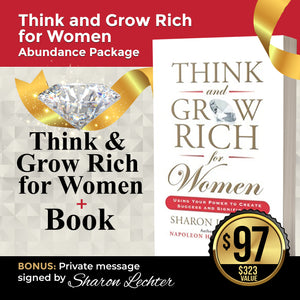Think & Grow Rich for Women Abundance Package