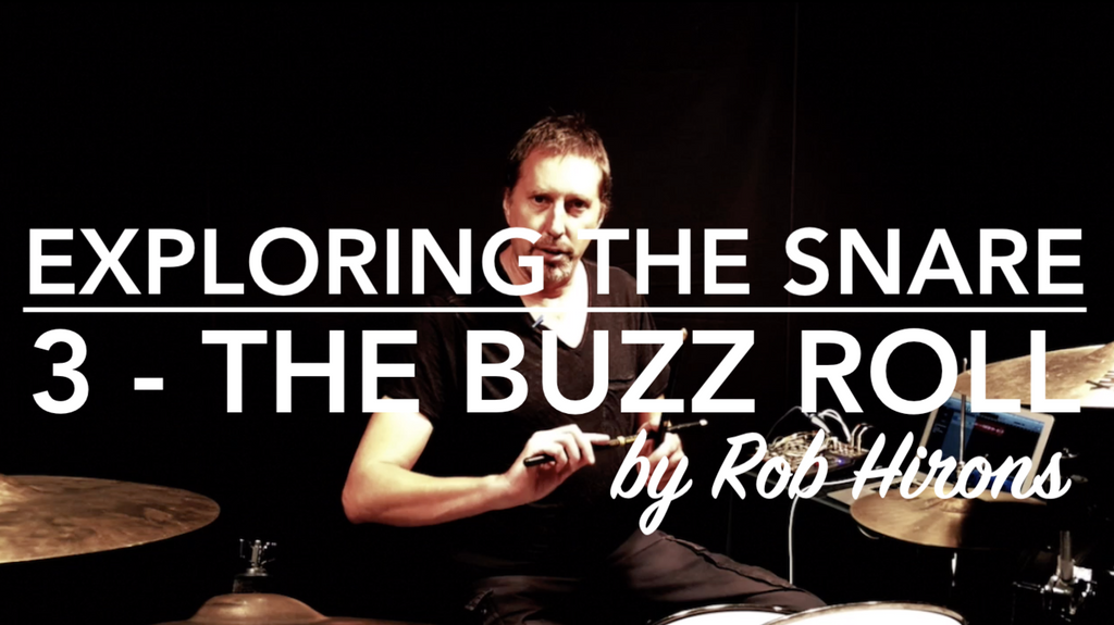 Exploring the Snare Lesson 3 - The Buzz Roll (Beginner)