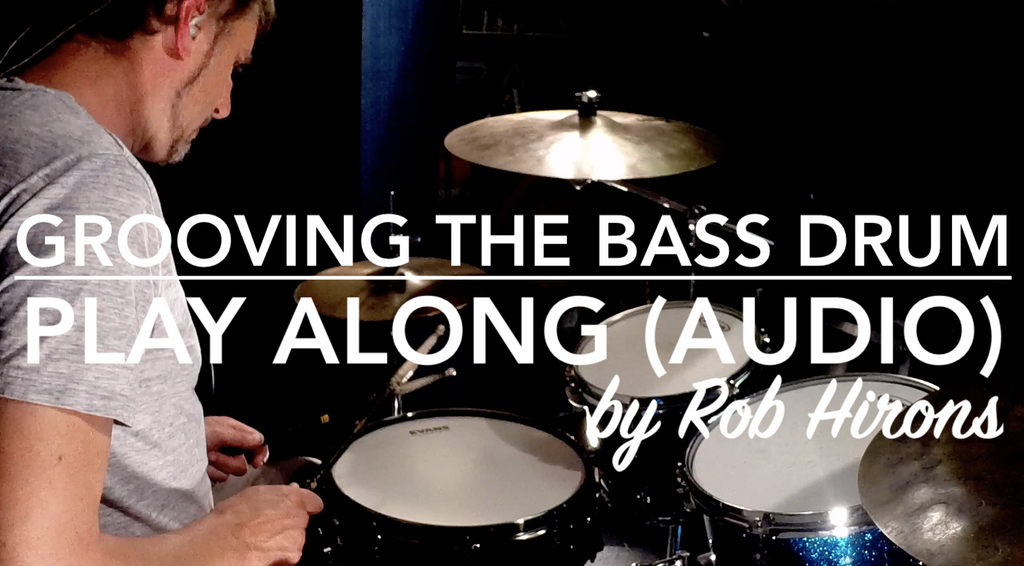 Grooving the Bass Drum - Play along (Audio)
