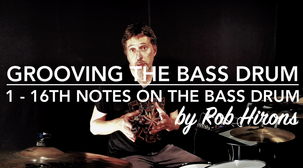 Grooving the Bass Drum Lesson 1 - 16th notes on the Bass Drum (Intermediate)