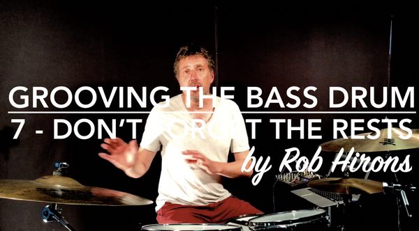 Grooving the Bass Drum Lesson 7 - Don't forget the rests (Intermediate)