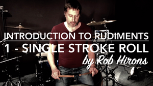 Introduction to Rudiments Lesson 1 - Single Stroke Roll (Beginner)
