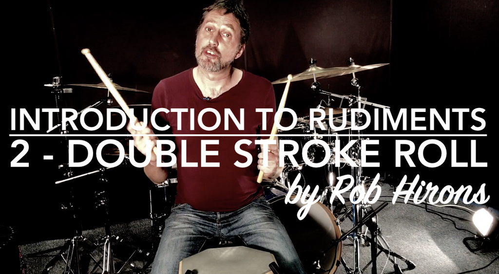 Introduction to Rudiments Lesson 2 - Double Stroke Roll (Beginner)