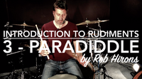 Introduction to Rudiments Lesson 3 - Paradiddle (Beginner)