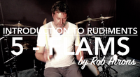 Introduction to Rudiments Lesson 5 - Flams (Beginner)