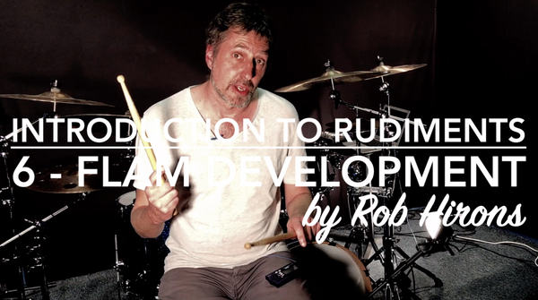 Introduction to Rudiments Lesson 6 - Flam Development (Beginner)