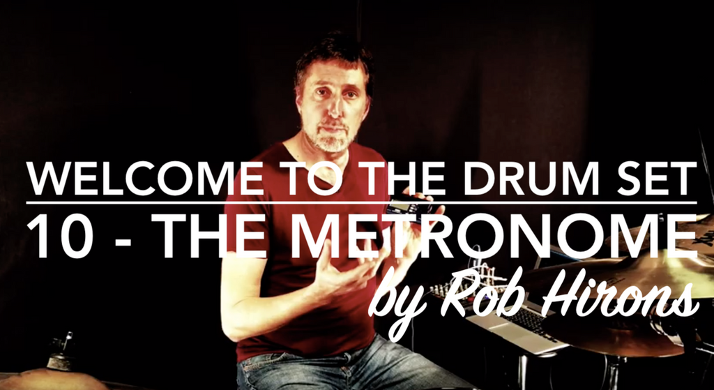 Welcome to the Drum Set Lesson 10 - The Metronome (Beginner)