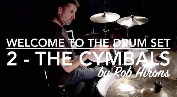 Welcome to the Drum Set Lesson 2 - The Cymbals (Beginner)