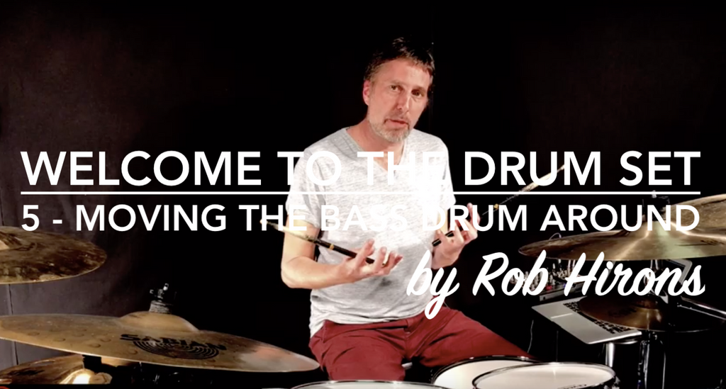 Welcome to the Drum Set Lesson 5 - Moving the Bass Drum around (Beginner)