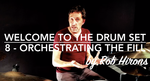 Welcome to the Drum Set Lesson 8 - Orchestrating the fill (Beginner)