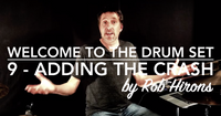 Welcome to the Drum Set Lesson 9 - Adding the Crash (Beginner)