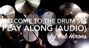 Welcome to the Drum Set - Play along (Audio)