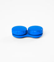 Blue Spray Painted Lens Case