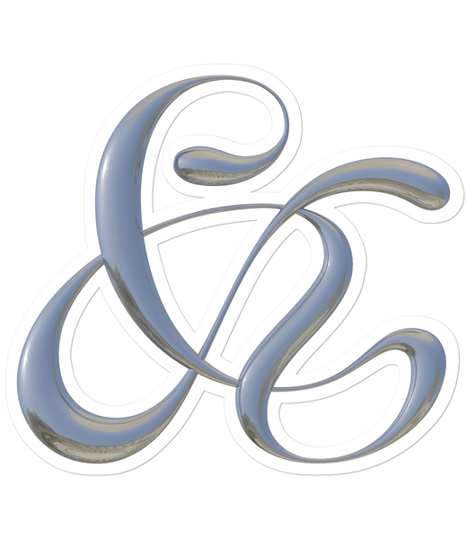 Ampersand Stickers