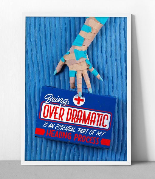 No Filter Overdramatic Healing Process Poster