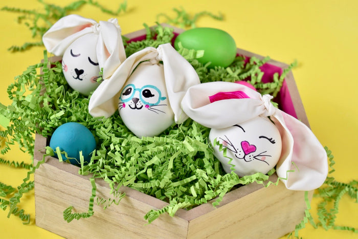 The Cutest Lil' DIY Bunnies
