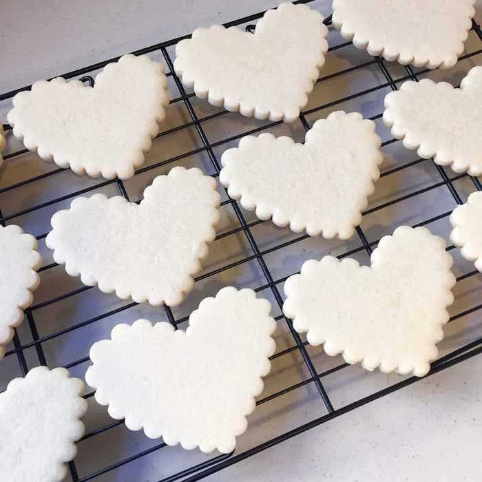 Easy Cut Out Sugar Cookies (with Icing!)