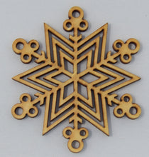Load image into Gallery viewer, Snowflake Ornaments - The Mitten Roots