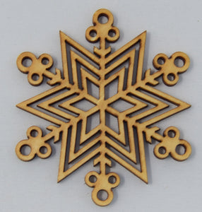 Snowflake Ornaments - The Mitten Roots
