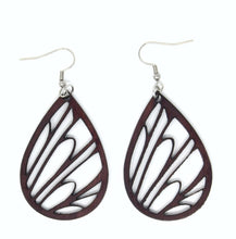 Load image into Gallery viewer, Wings & Feather Earrings - The Mitten Roots