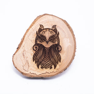 Live Edge Animal Coasters - The Mitten Roots
