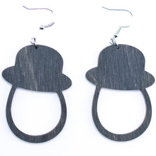 Load image into Gallery viewer, Gentleman Earrings - The Mitten Roots