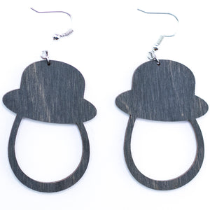 Gentleman Earrings - The Mitten Roots