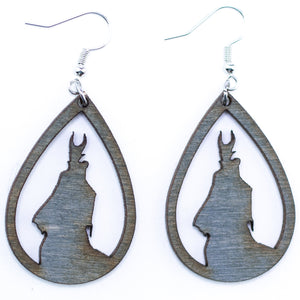 Villain Earrings - The Mitten Roots