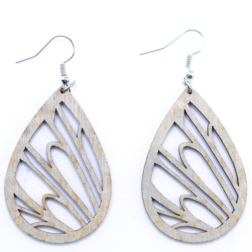 Wings & Feather Earrings - The Mitten Roots