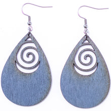 Load image into Gallery viewer, Abstract Teardrop Earrings - The Mitten Roots