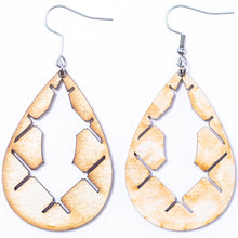 Load image into Gallery viewer, Inner (Condensed) Teardrop Earrings - The Mitten Roots
