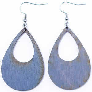 Abstract Teardrop Earrings - The Mitten Roots