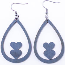Load image into Gallery viewer, Heart Earrings - The Mitten Roots