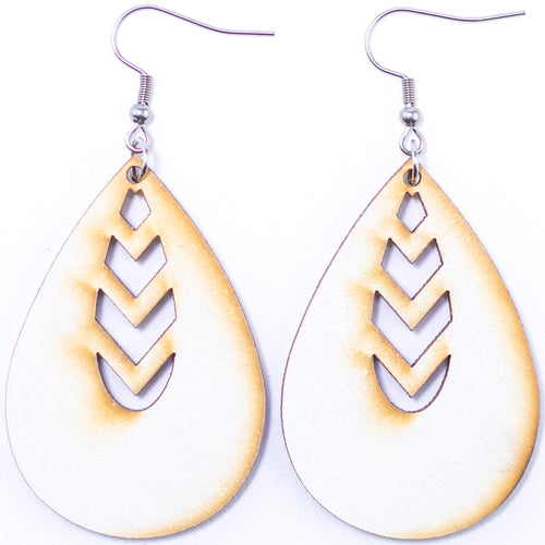 Inner (Condensed) Teardrop Earrings - The Mitten Roots