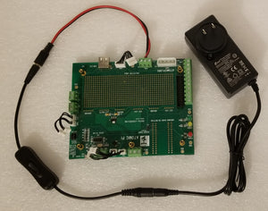 Atomic Pi Full Breakout Board, Inline Switch, 5V 4A Power Supply Bundle