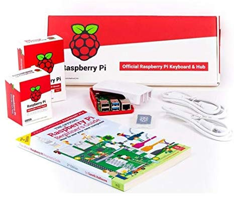 Raspberry Pi 4 Official Desktop Kit: Computers & Accessories