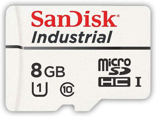 Sandisk 8GB Industrial MLC MicroSD SDHC UHS-I Class 10 SDSDQAF3-008G